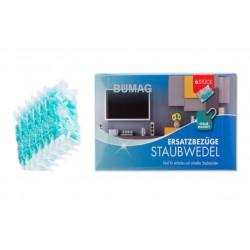 Náhradní magnetická prachovka Bümag, 6ks, modrá