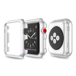 Pouzdro pro Apple Watch 38mm - stříbrná