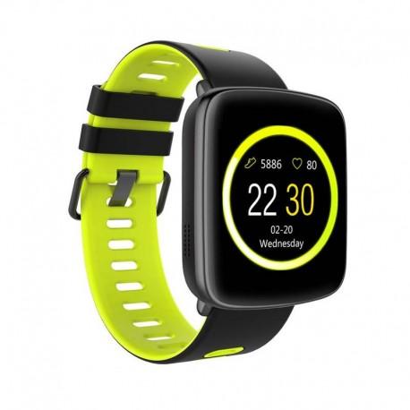 Chytré hodinky IMMAX SW9, černo - zelená