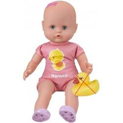 Panenka Nenuco koupací, 35cm - růžová