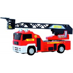 Hasičské auto MAN-Dickie Toy -červená