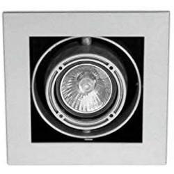 Vestavěné výklopné bodové svítidlo FARO 43315 - stříbrné