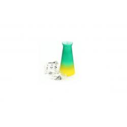 Závěsné svítidlo Brilux Equa 11 - zelená/žlutá