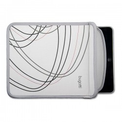 "Pouzdro na iPad 7-10"" Bugatti Sleeve - šedá"