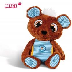 Interaktivní plyšová hračka Schlafmützen Nici - medvídek s čepicí