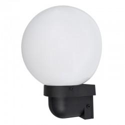 Venkovní plastové svítidlo Ideal Lux Semisféra 1486802 - bílá/černá
