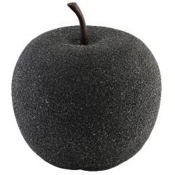 Zahradní dekorace Greemotion 25x28,5cm - černé jablko