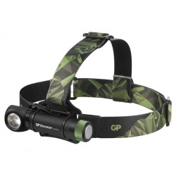GP LED nabíjecí čelovka GP Discovery CHR35, 600 lm