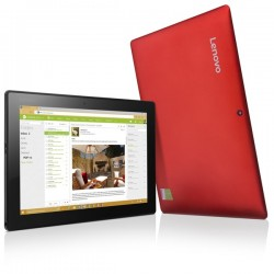 Tablet PC Lenovo Miix 310-10ICR 64GB - červená (80SG00ELCK)