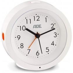 Analogový budík ADE CK1719, bílá
