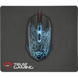 Herní myš s podložkou Trust GXT 783 Izza 22736