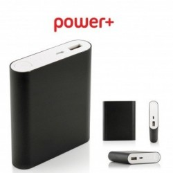 Powerbanka Power plus, 10.400mAh, černá