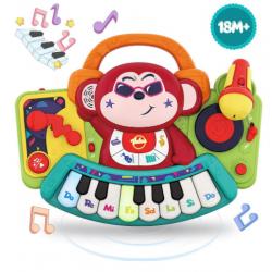 Interaktivní dětské klávesy Vatos 3137 - opice