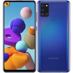 Mobilní telefon Samsung Galaxy A21s, 3GB/32GB, Dual SIM - modrá