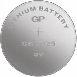 Lithiová knoflíková baterie GP CR2025, 10ks
