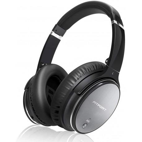 Bluetooth sluchátka Fitfort, černá