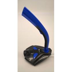 Stolní mikrofon Klim Voice K902, modro-černá