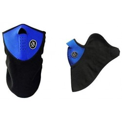 Sportovní ochranná neoprenová maska IBlueLover, modro-černá