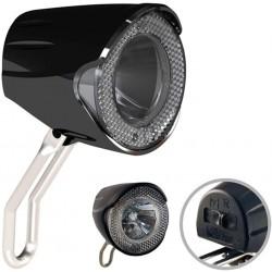 Přední LED světlo na elektrokola Union UN 4256, černá
