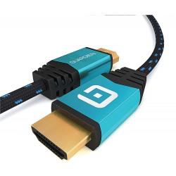 HDMI 4K kabel Guardien 1m Ultra HD 2160p, modro-černý