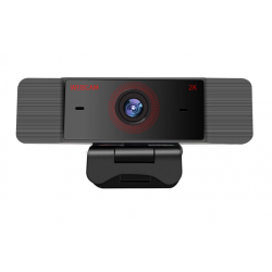 Webkamera s mikrofonem 2K 1080p Full HD, černá