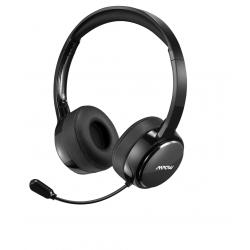 Sluchátka s mikrofonem Mpow PA071, černá