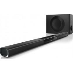 Soundbar s bluetooth subwooferem Philips HTL5140B, 320W - černá