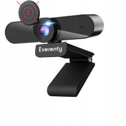 Webkamera Everenty Full HD 1440P, černá