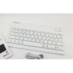 Bezdrátová bluetooth klávesnice Fintie HB033 - bílá