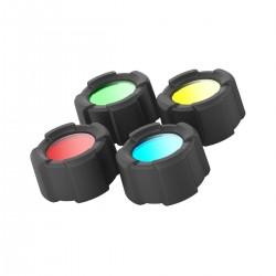 Sada barevných filtrů Ledlenser MT14, 39 mm, 4ks