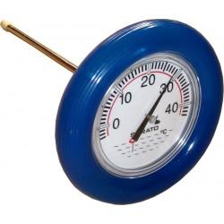 Bazénový plovoucí teploměr Spirato 19cm, modrá