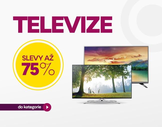 Televize až -75 %!
