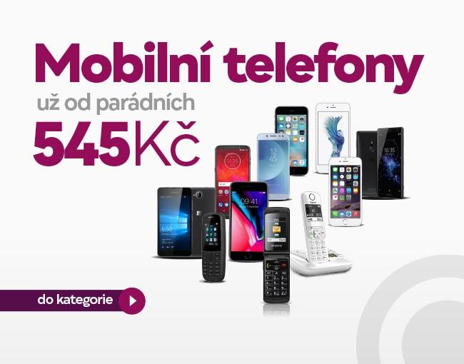 Mobilní telefony od 555 Kč