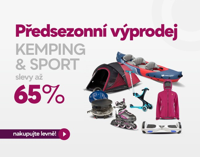 Kemping & sport výprodej
