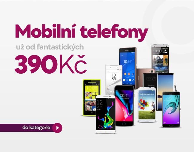 Mobilní telefony od 490 Kč